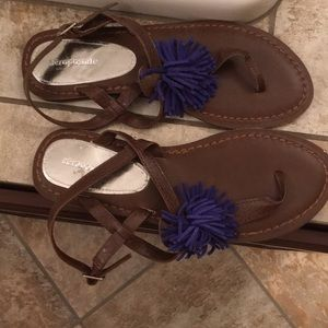 Brand new Aeropostale sandals